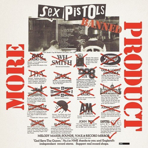 More Product - Sex Pistols, CD Box (Import)