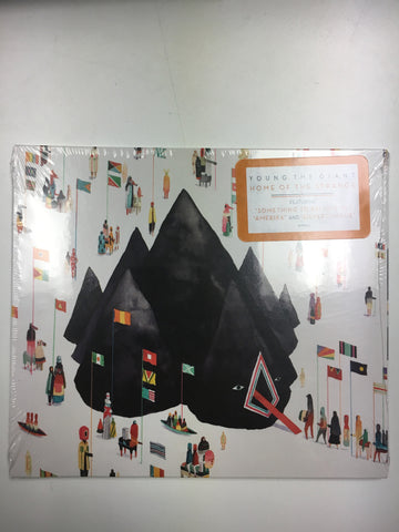 Home Of The Strange - YOUNG THE GIANT, CD