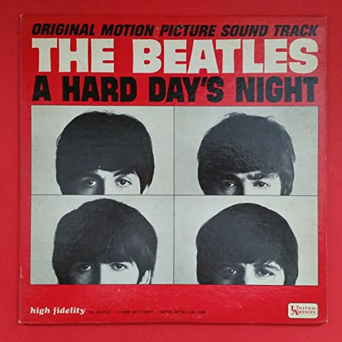 A Hard Day's Night (Original Motion Picture Sound Track) - The Beatles, LP (Pre-Owned)