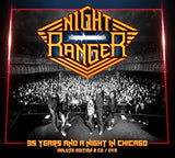 35 Years And A Night In Chicago - Night Ranger, CD/DVD