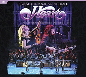 Live at The Royal Albert Hall with The Royal Philharmonic Orchestra - Heart, DVD