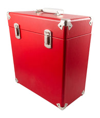GPO SWB18Red 12 IN Vinyl Record Case Red