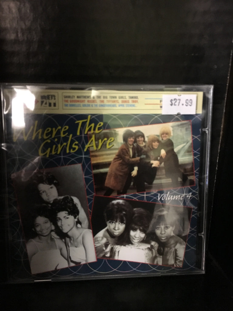 Where the Girls Are Vol. 4, CD