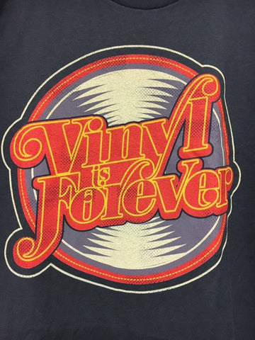 T-Shirts - 70S VINYL IS FOREVER (LG)