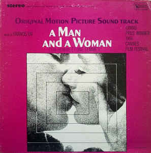 A Man And A Woman (Original Motion Picture Soundtrack) - Francis Lai, LP (Pre-Owned)