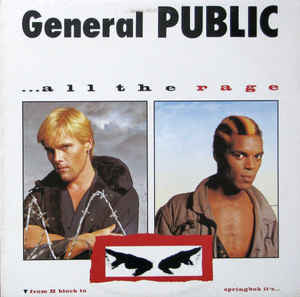 All The Rage - General Public, LP (Pre-Owned)