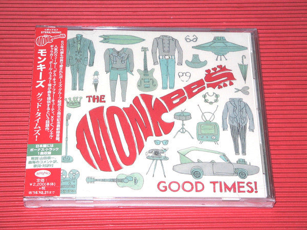Good Times - The Monkees, CD Import