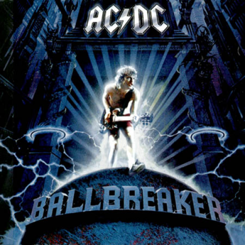 Ball Breaker- ACDC, CD