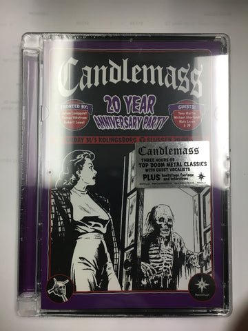 Candlemass 20th Anniversary Party, DVD