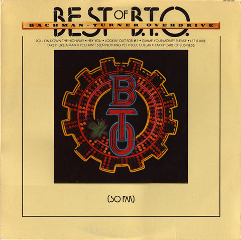 Best Of B.T.O. - Bachman-Turner Overdrive, LP (Pre-Owned)