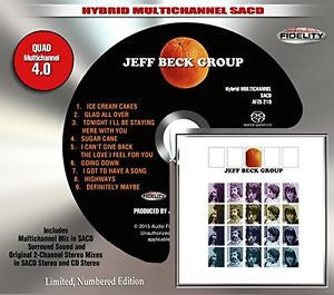 Jeff Beck Group, SACD Limted Edition Numbered