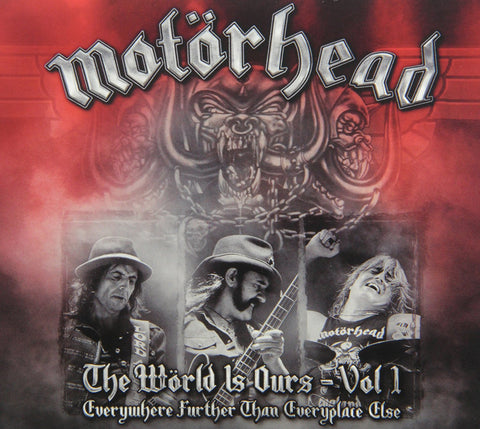 World Is Ours 1: Everywhere Further Than Everyplace Else - Motorhead, CD