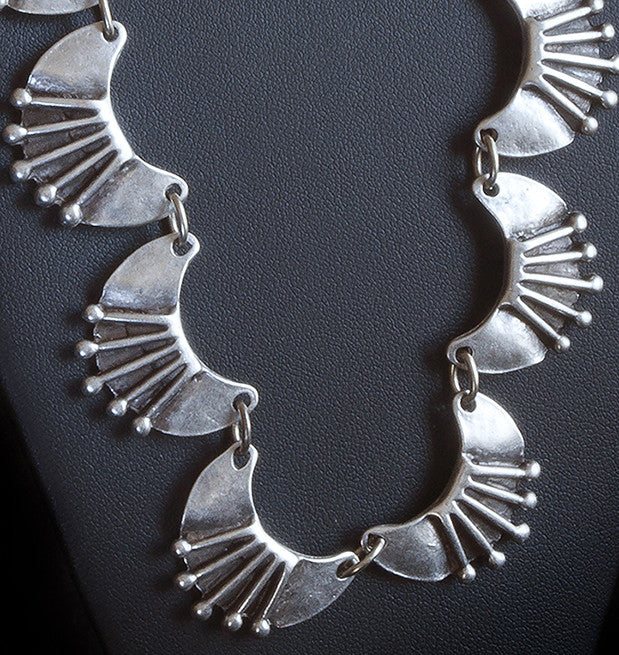 Crescent Bohemian Necklace