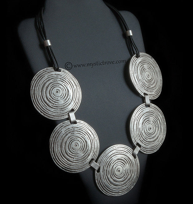 Swirly Bohemian Necklace