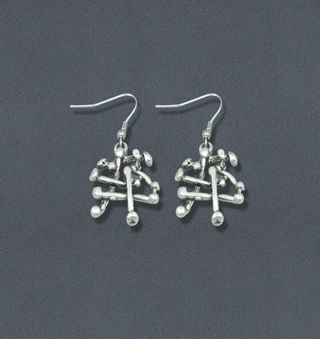 Brier Silver Fashion Bohemian Earrings