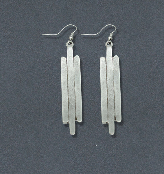 Wing Silve Bohemian Fashion Earrings