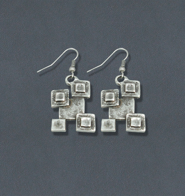 Pieces Silver Bohemian Fashion Earrings