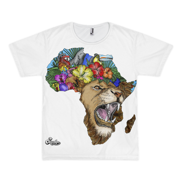 African Lion Unisex Tee- Sold Out