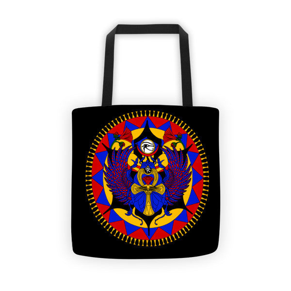 Egyptian Scarab Tote