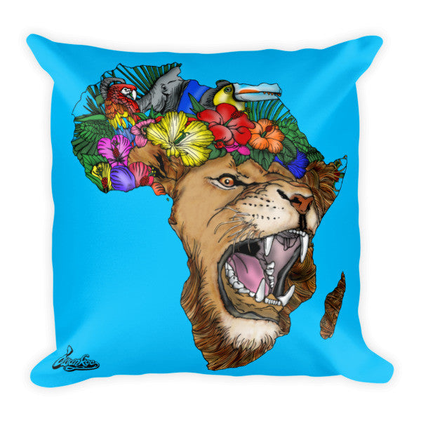 African Lion Pillow