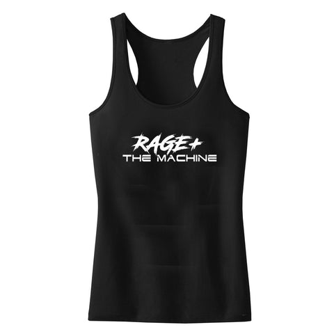 RAGE + THE MACHINE WOMENS RACER BACK TANKTOP