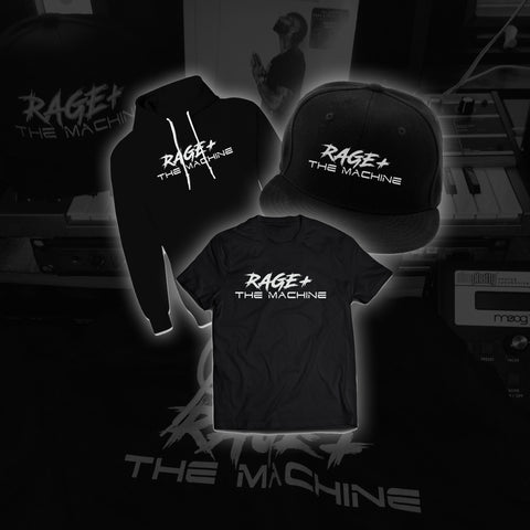 RAGE + THE MACHINE HOODIE, HAT & SHIRT BUNDLE