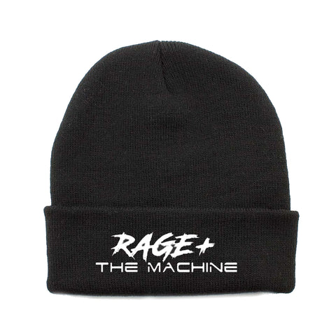 RAGE + THE MACHINE BEANIE