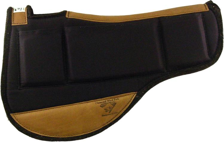 Western Contoured Relief Saddle Pad