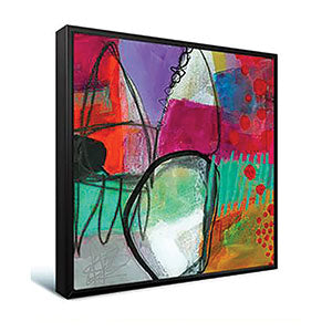 Gallery Wrap Canvas in a Floater Frame