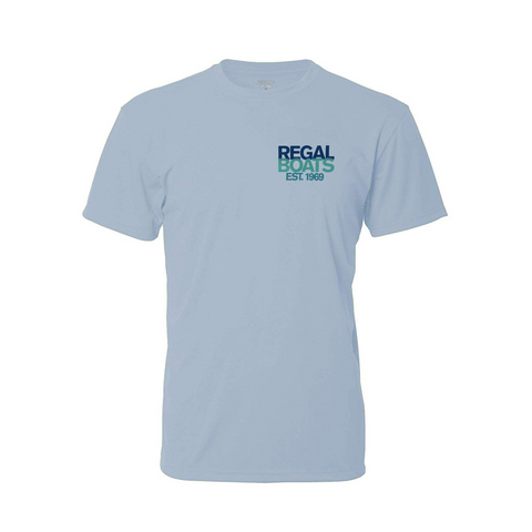 Men's Denali 50th Short Sleeve - Light Blue