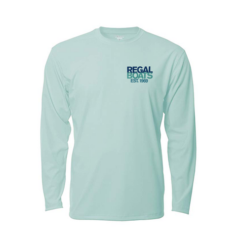 Men's Denali 50th Long Sleeve - Sea Frost