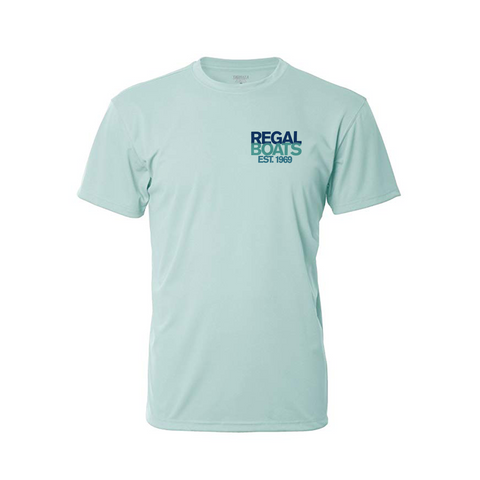 Men's Denali 50th Short Sleeve - Sea Frost