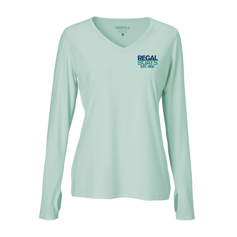 Women's Denali 50th Long Sleeve - Sea Frost