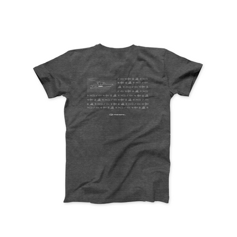 Ocean Tec UPF T-Shirt - Dark Grey