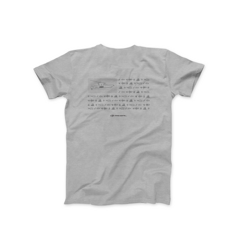 Ocean Tec T-Shirt - Light Grey