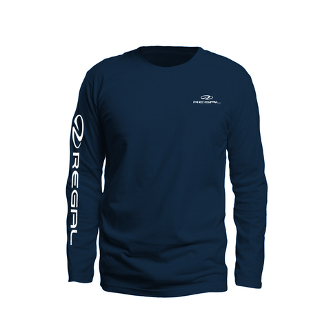Topographic Long-sleeve Tee