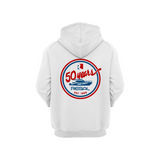 Regal Retro Hoodie - White