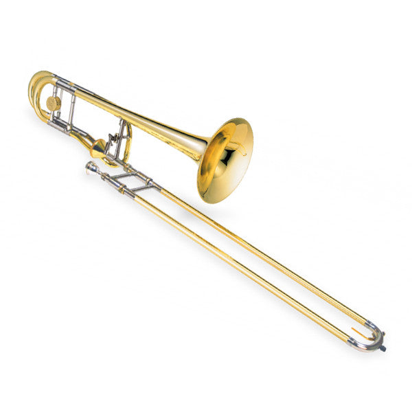 Jupiter XO Series Bb Slide Trombone with F Attachment with Thru-Flo Valve, 1236L-T