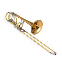 Jupiter XO Model Professional Bass Trombone with Rose Brass Bell, 1240RL-T