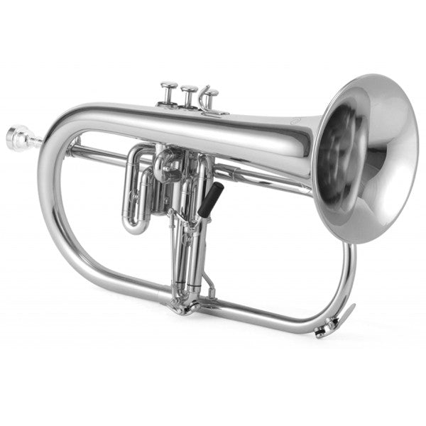 Jupiter XO Professional Bb Flugelhorn with Rose Brass Bell , 1646RS