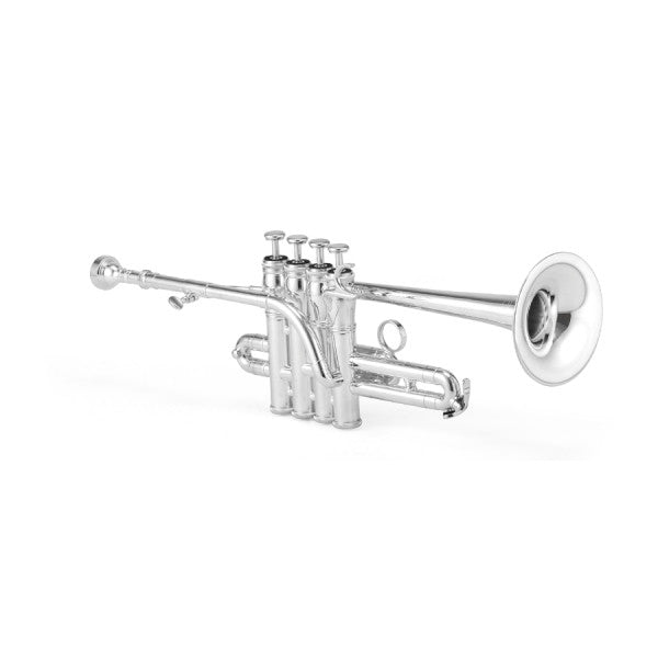 Jupiter XO Professional Piccolo Trumpet with Rose Brass Bell, 1700RS