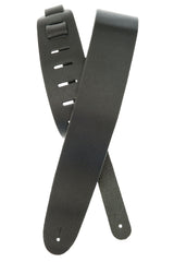 Planet Waves Basic Classic Leather Guitar Strap, Black
