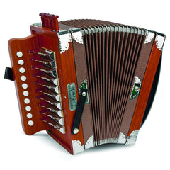Hohner Diatonic Accordion Ariette One-Row, Key of C, Natural