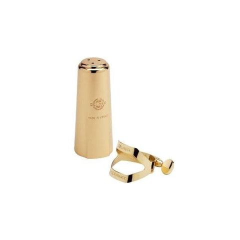 Selmer Paris Alto Saxophone Ligature And Cap Set, Lacquer