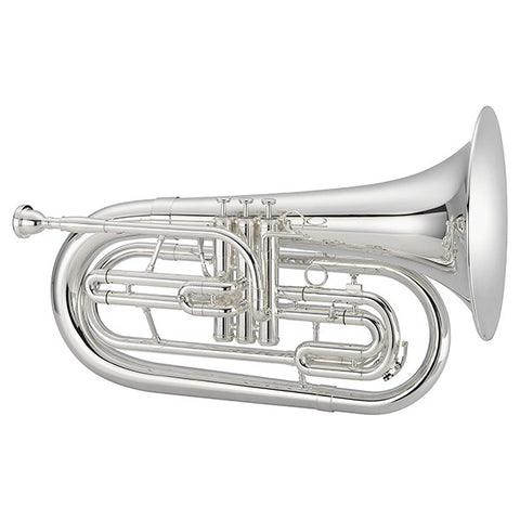 Jupiter Quantum Marching Bb Baritone Horn, JBR1100MS