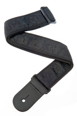 Planet Waves Woven Guitar Strap, Black Satin
