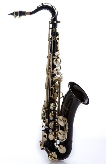 Hawk Black Tenor Saxophone with Case, Mouthpiece and Reed