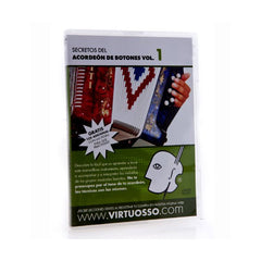 Virtuosso Curso De Acordeon De Botones DVD & CD Vol.1