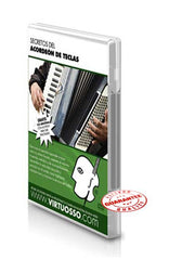 Virtuosso Curso De Acordeon De Teclas DVD & CD Vol.1