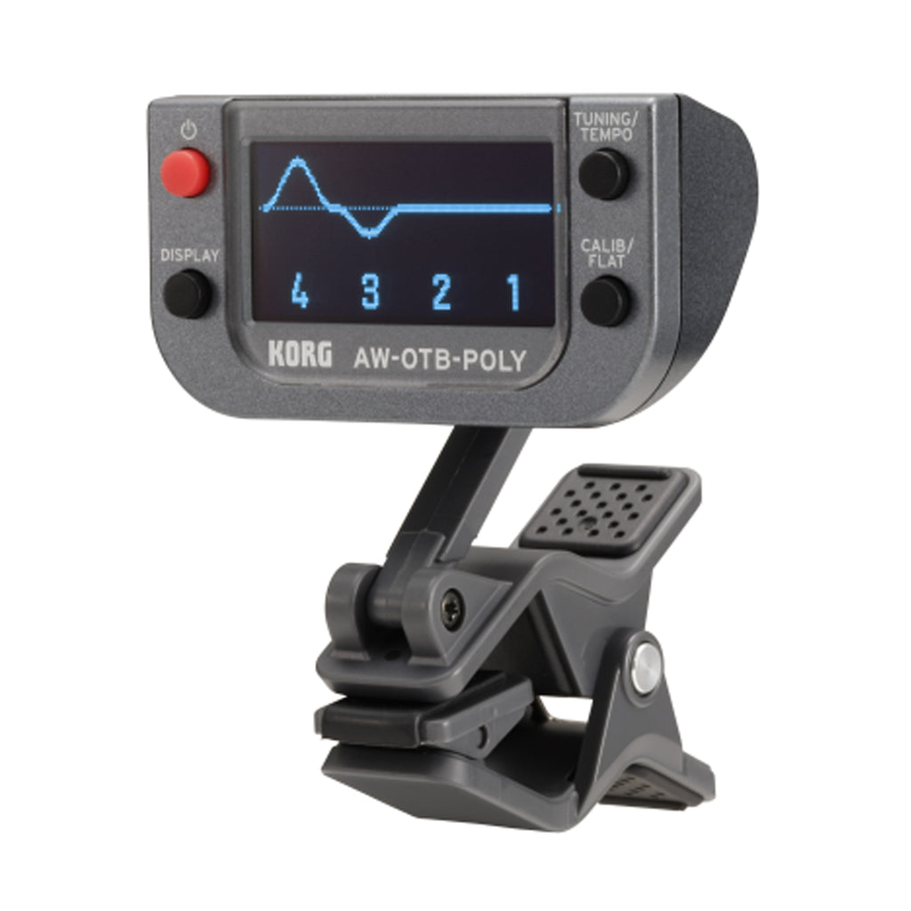 Korg Polyphonic Clip-On Tuner For Bass, Bass